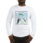 Parrot-chuting Long Sleeve T-Shirt