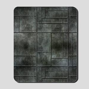Industrial Grey Metal Mousepad