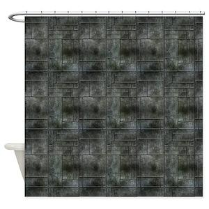Industrial Design Shower Curtains