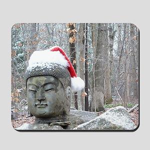 Buddha Claus Mousepad
