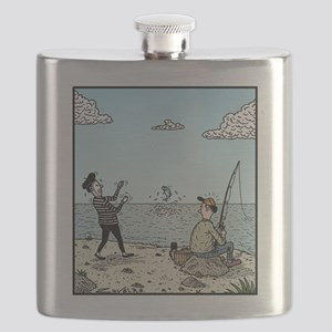 Mime fishing Flask