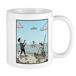Mime fishing Mugs