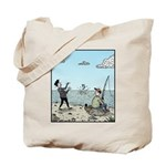 Mime fishing Tote Bag
