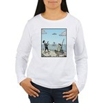 Mime fishing Long Sleeve T-Shirt