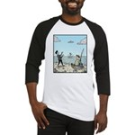 Mime fishing Baseball Jersey