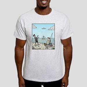Mime fishing T-Shirt