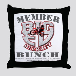 Member Big Ed Bunch Throw Pillow