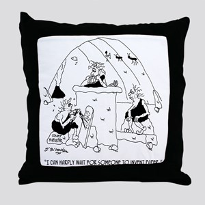 Invent Paper Already Throw Pillow