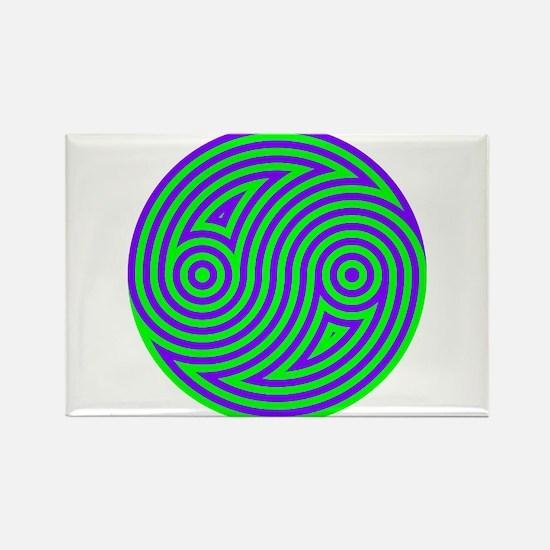 Yin Yang 02 Rectangle Magnet