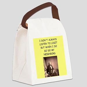 liszt Canvas Lunch Bag