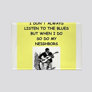 the blues Magnets