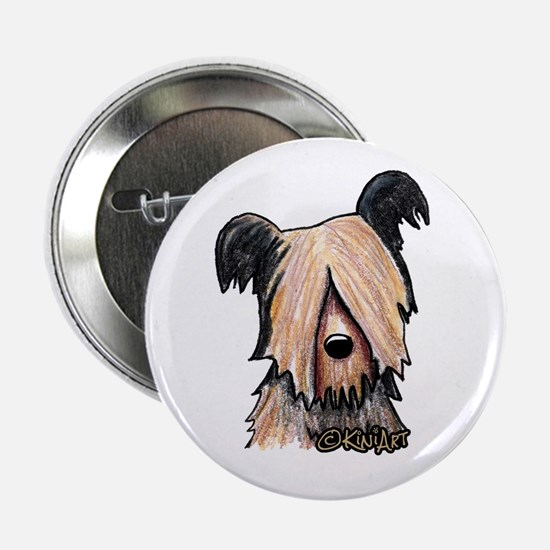 Skye Terrier Button