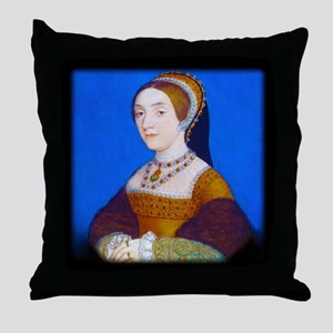 Catherine (or Kathryn) Howard Throw Pillow