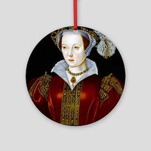 Katherine Parr Ornament (Round)
