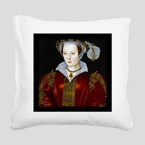 Katherine Parr Square Canvas Pillow