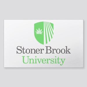 Stoner Brook University Sticker (Rectangle)