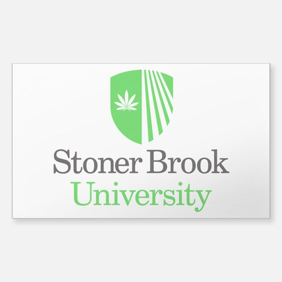 Stoner Brook University Sticker (Rectangle)