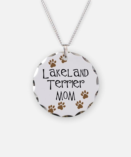Lakeland Terrier Mom Necklace