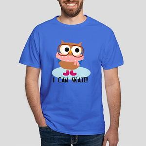 Owl I Can Skate Dark T-Shirt