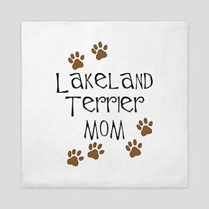 Lakeland Terrier Mom Queen Duvet