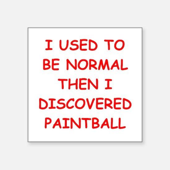 paintball Sticker