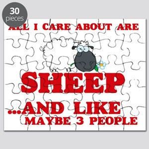All I care about are Sheep Puzzle