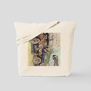 iPad 3 Folio Vintage Oldsmobile Tote Bag