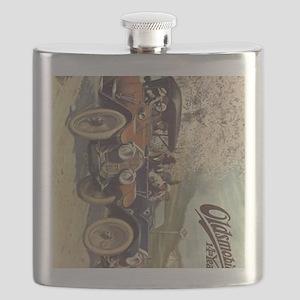iPad 3 Folio Vintage Oldsmobile Flask