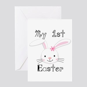 Bunny My 1st Easter Greeting Card