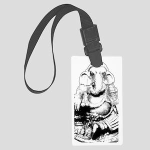Seated Ganesh (Ganesha) Large Luggage Tag