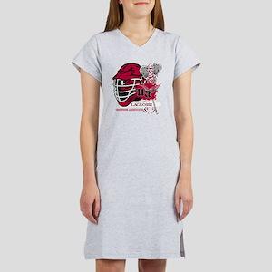 Undying Addiction Lacrosse  Women's Nightshirt
