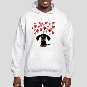 Cute Dachshund Hooded Sweatshirt