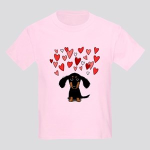 Cute Dachshund Kids Light T-Shirt