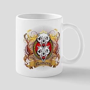 Romero Family Crest Mug
