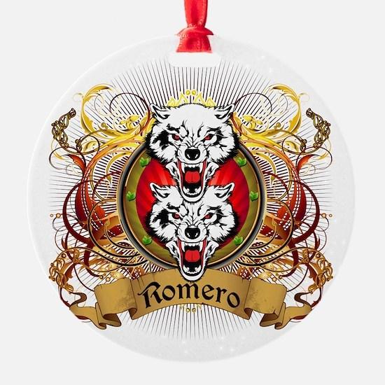 Romero Family Crest Ornament