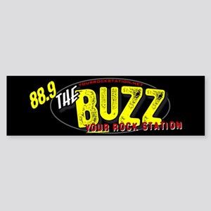 88.9 The Buzz Bumper Sticker