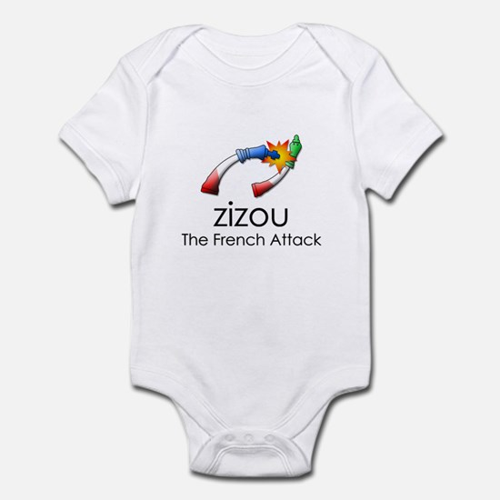 The French Attack Infant Bodysuit