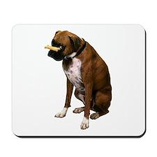 Brindle Boxer Photo Mousepad