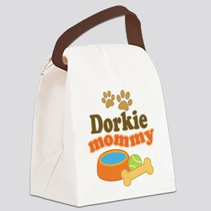Dorkie Mom Canvas Lunch Bag
