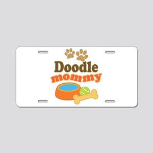 Doodle Mom Aluminum License Plate
