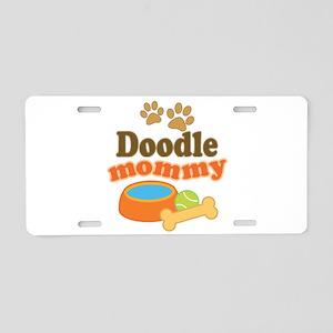 Doodle Mom Aluminum License Plate