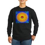 Spiral Sun Long Sleeve Dark T-Shirt