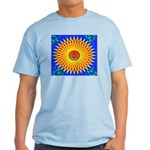 Spiral Sun Light T-Shirt
