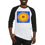 Spiral Sun Baseball Jersey