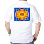 Spiral Sun Golf Shirt