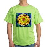 Spiral Sun Green T-Shirt