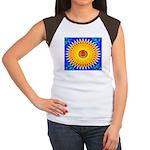 Spiral Sun Women's Cap Sleeve T-Shirt