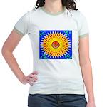 Spiral Sun Jr. Ringer T-Shirt