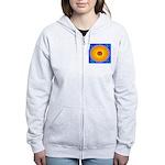 Spiral Sun Women's Zip Hoodie