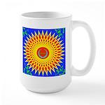 Spiral Sun Large Mug